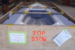 custom built crates for international shipping
