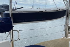 Leopard catamarans davits work really well with our tenders.