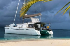 Lagoon 42 in San Blas Islands courtesy of Baydreamer