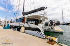 OC50 from HH Catamarans with an OC350 on the davits