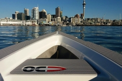 OC350 takes on the Auckland Harbour view