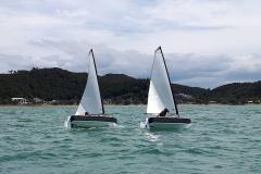 Beam sailing stability