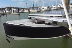 Custom lifting points for different davits