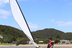 OC350-S under test sail